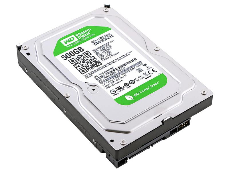 WD 500GB 64MB 5400RPM SATA3 CAVIAR